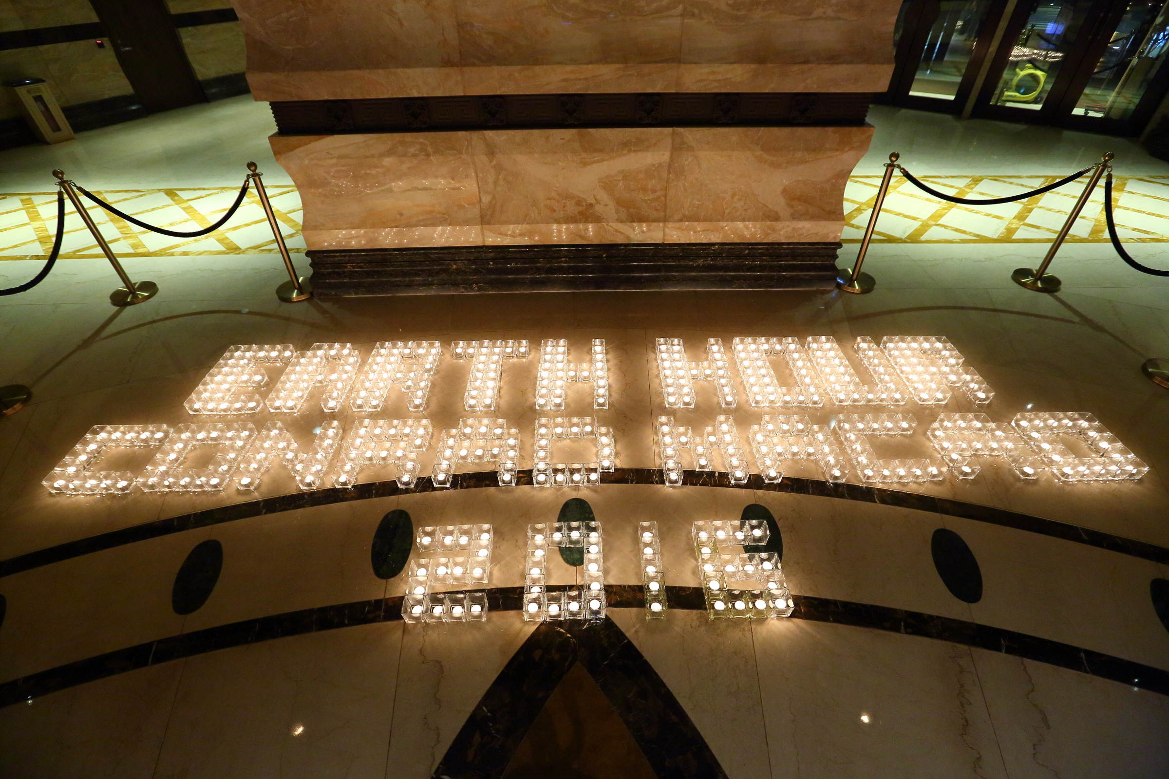Conrad Macao celebrated Earth Hour 2016